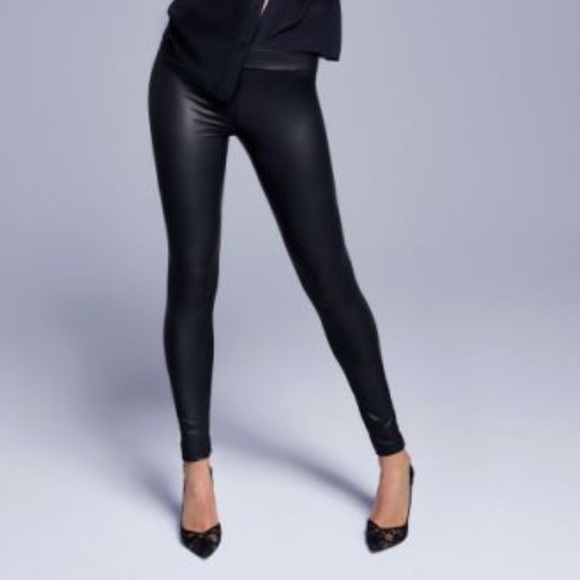75e21062c68cc Calzedonia Pants | Faux Leather Leggings Small Worn Once | Poshmark